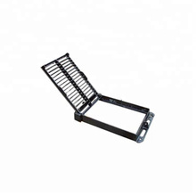 Ductile iron cover square gutter rainwater grate drainage gutter grating