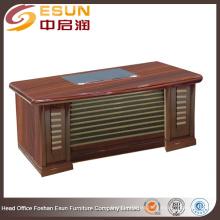 Fábrica de suministro directo de madera ejecutivo ejecutivo escritorio de la oficina