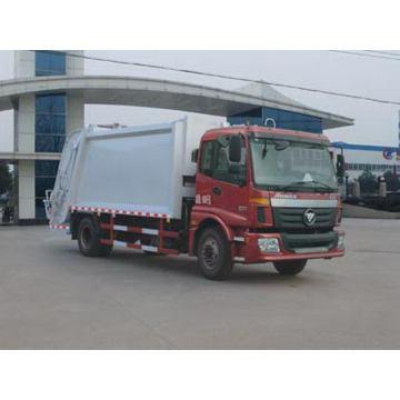Caminhão hidráulico do compressor do lixo de FOTON AUMAN 12CBM