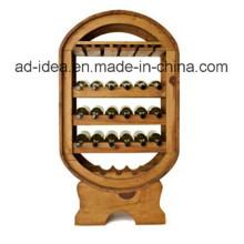 Suporte de exposição de madeira durável / exposição para publicidade de vinho