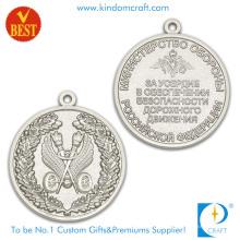 China Precio de fábrica modificado para requisitos particulares barato 3D ambas medalla lateral del recuerdo en aleación del cinc
