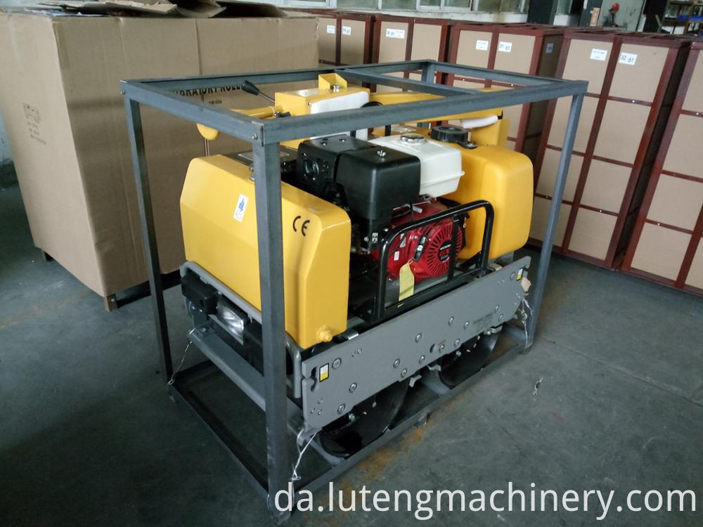 LTR-600 Walking type small type water-cooled road roller for sale