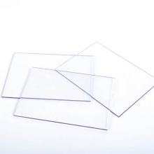Muro cortina de construcción de lámina de policarbonato transparente