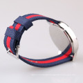 nylon strap men sports low cost wrist watch quartz