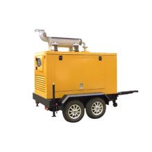80kw trailer type Cummins Diesel Generator Set