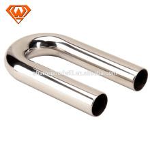 tubo de doblado de acero inoxidable