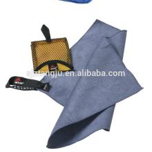 china fornecedor microfibra camurça toalha tangju