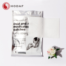 100% natural ingredient cool and hot patch