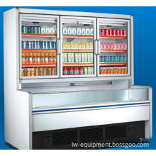 Vertical Refrigerator Display showcase