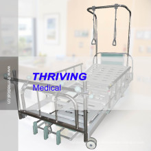 Três Manivela manual Ortopedia Traction Hospital Bed (THR-TB001)