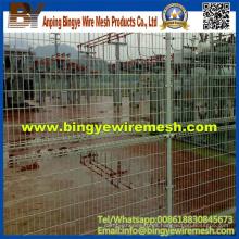 Valla de malla de alambre de acero de doble círculo (fábrica directa)