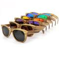 FQ marca o fabricante local por atacado homem de madeira retro óculos de sol