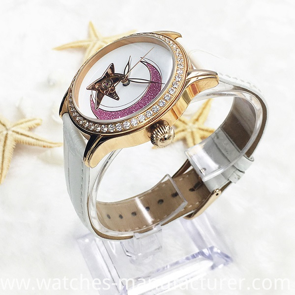 fashion lady mechanical watch