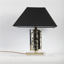 Canosa ECO-friendly black mother of pearl lampes de table