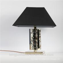 Canosa ECO-friendly preto madrepérola lâmpadas de mesa