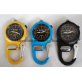 Водонепроницаемые пластиковые карабинные часы