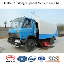 6cbm Dongfeng Vakuum Road Kehrmaschine Cleaner Truck Euro4