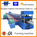 China Two Waves Highway Guardrail Roll Forming Machinery