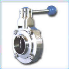 Stainless Steel 304 Wafer Type Butterfly Valve
