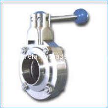 Aço Inoxidável 304 Wafer Tipo Válvula Borboleta