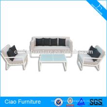 Sofa de cadre en aluminium de nouveau style de meubles extérieurs