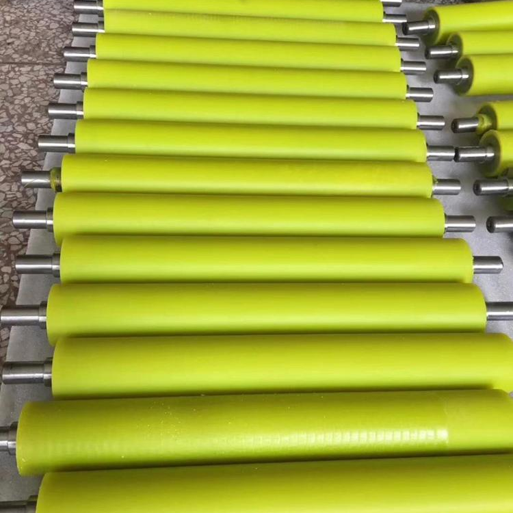 Customize PU Polyurethane Rubber Roller For Printing/ Dyeing