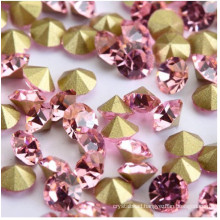 Pink Chatons Stones Strass Beads