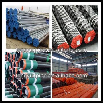 Astm a106 / a53 tubo de aço carbono sem costura