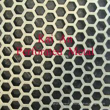 Titanium malha perfurada em redondo, quadrado, retângulo furo ---- 30 anos de fábrica