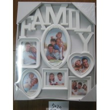 White Family Collage Photo Frame