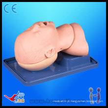 HR / J10 simulador de respiração de intubação infantil de luxo avançado