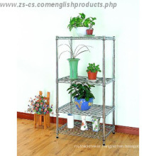 Adjustable Chrome Heavy Duty Greenhouse Storage Wire Rack