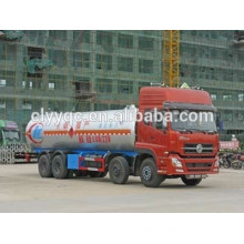 Dongfeng Tianlong depósito de carga de lpg 38CBM 8x4 diesel precio del vehículo de GPL