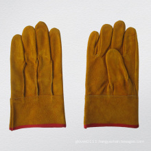 Full Leather Straight Thumb TIG Welding Glove-9967. Gd