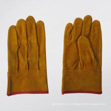 Полная кожа прям палец перчатка заварки TIG-9967. ГД