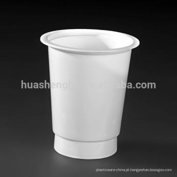copos descartáveis de iogurte 180ml / 6oz de alta qualidade