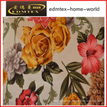 100% Polyester Knitted Fabric Printing Velvet Curtain Fabric (EDM0453)