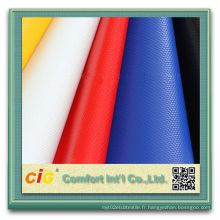 Toiles de remorques de tissu en polyester revêtu de PVC