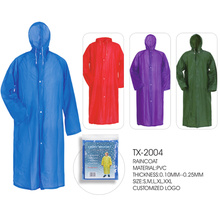 Promotion Waterproof PVC Raincoat Wholesale