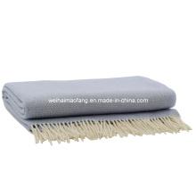 Чистого кашемира броска одеяло (NMQ-CST002)