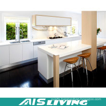 White Lacquer Kitchen Cabinet furniture Manufacturer (AIS-K001)