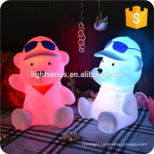 2015 hot selling LED rechargeable baby cute night light