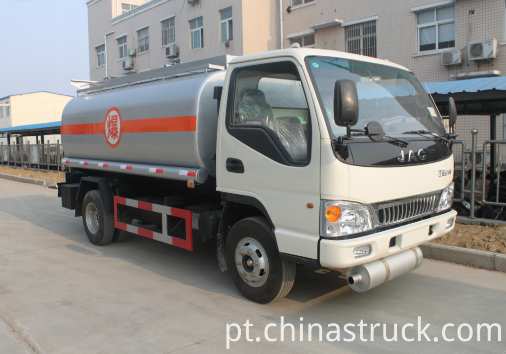 JAC mobile fuel station truck