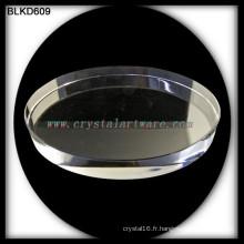 K9 cristal blanc de haute qualité pour la gravure laser