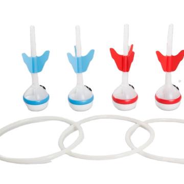 EASTOMMY Combo de dardos para césped y bochas 2 en 1