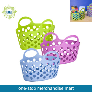 Dollar Items of Flexible Plastic Basket