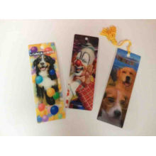 Different High Quality 3D Bookmark with Tassels