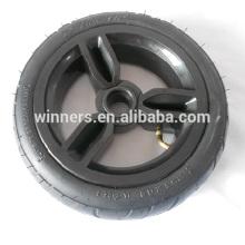 Roda plástica pneumática 10x do carrinho de crianças de 255x60mm