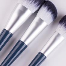 brosse pour le visage définit les cheveux de chèvre de maquillage