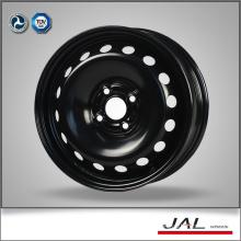 4 Hole Black Chrome Wheels 15x6 Steel Car Wheels Rim